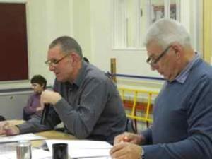 Jeremy & Richard at work