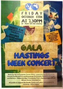 Gala Hastings Week Concert October 17th