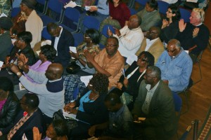 Many of our Sierra Leonean friends came down to enjoy the concert