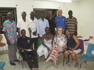 Meeting with members of the local committees