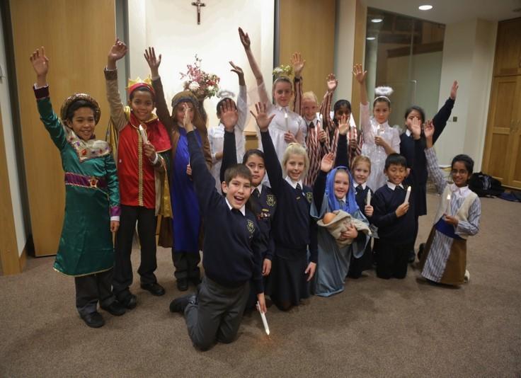 St Mary Star of the Sea Choir - Nativity tableau